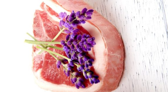 Lamb roast with Lavenderr