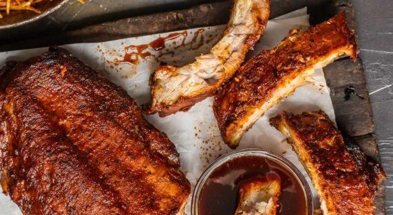 pork ribs with dijon mustard